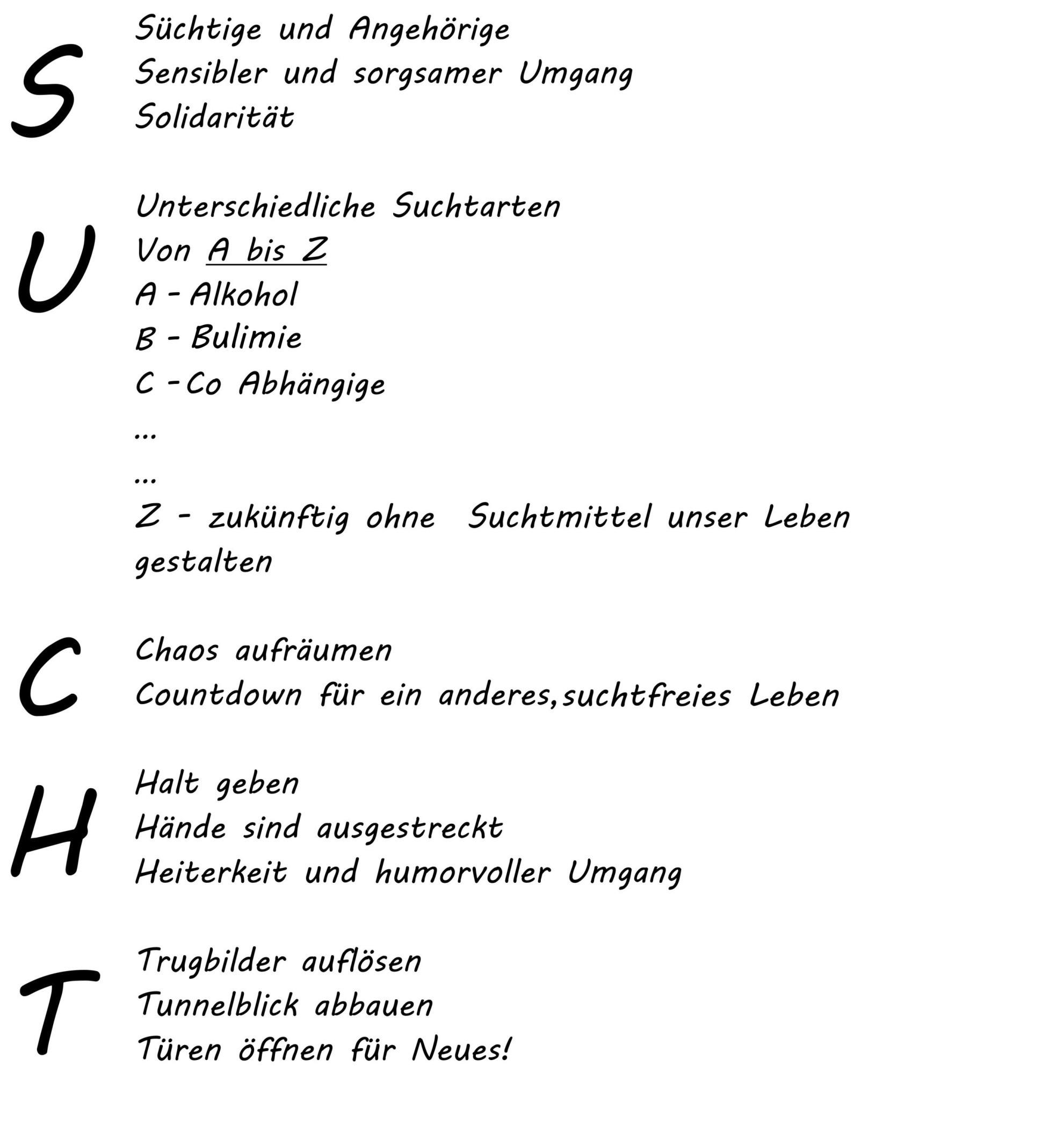 Frauenselbsthilfegruppe Text Sucht   Suchtberatung Sigmaringen